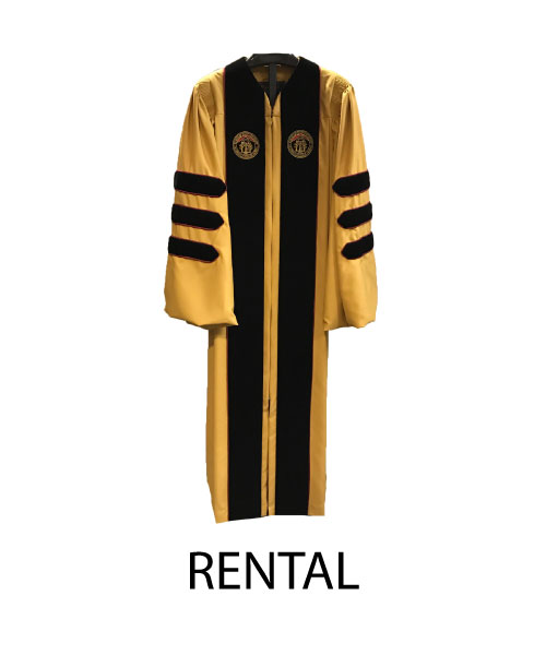 Doctoral RENTAL Gown