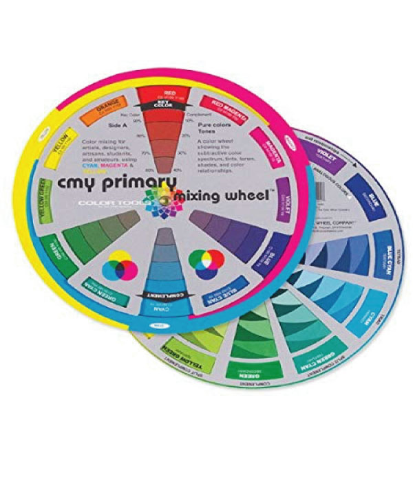 Image For CMY PRIMARY MIXING WHEEL