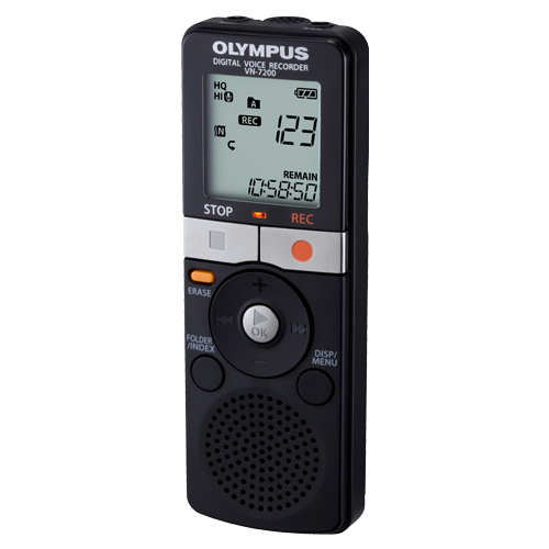 Image For Olympus VN-7200 Digital Voice Recorder<br>