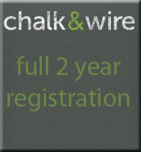Cover Image For CHALK & WIRE FULL 2 Year Registration