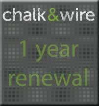 Image For CHALK & WIRE 1 YEAR RENEW