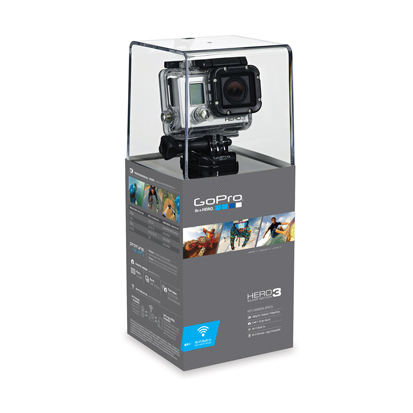 Image For GOPRO HERO3 CAMERA SILVER