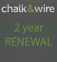 Image For CHALK & WIRE 2YR RENEW