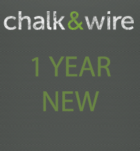 Image For CHALK & WIRE 1YR NEW