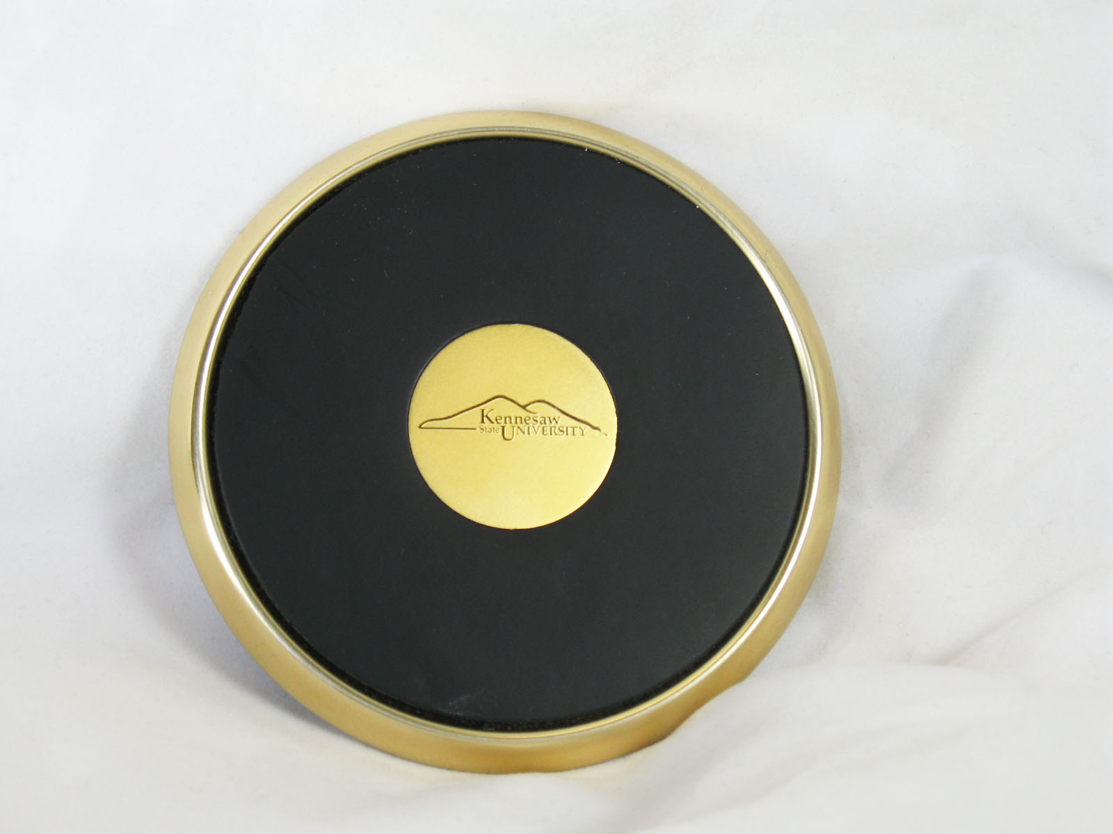 Image For Brass & Black Coaster