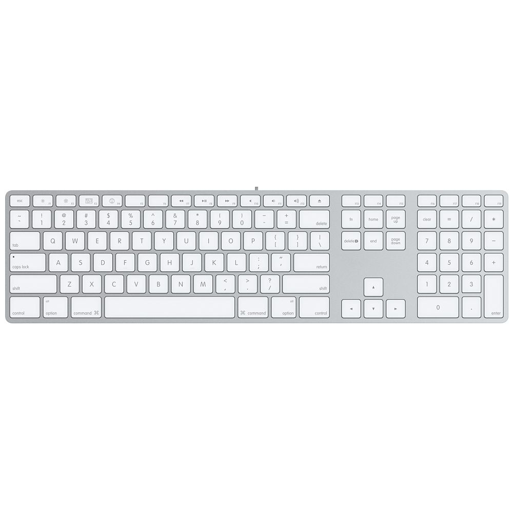 Image For Apple Keyboard with Numeric Keypad<br>