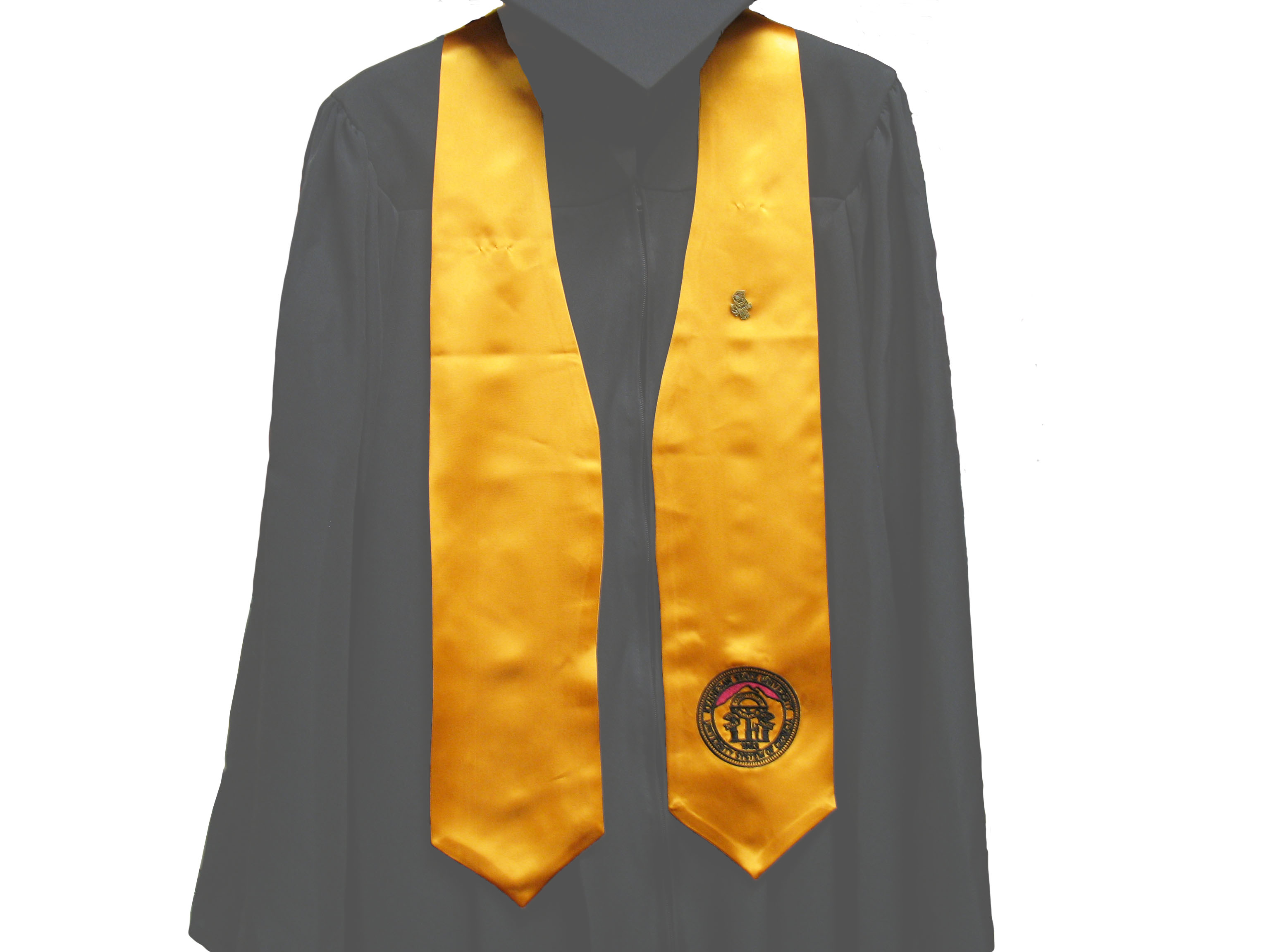 Image For Gold Graduation Stole