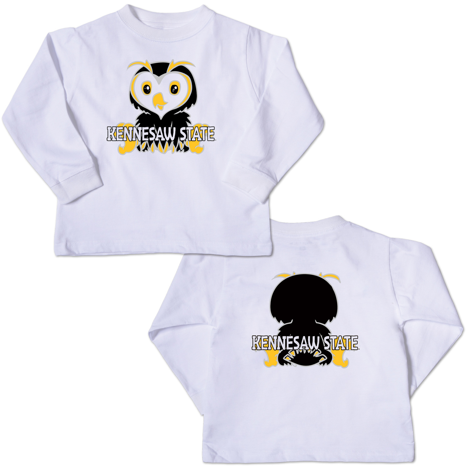 Image For Owl Kid Long Sleeve Tee
