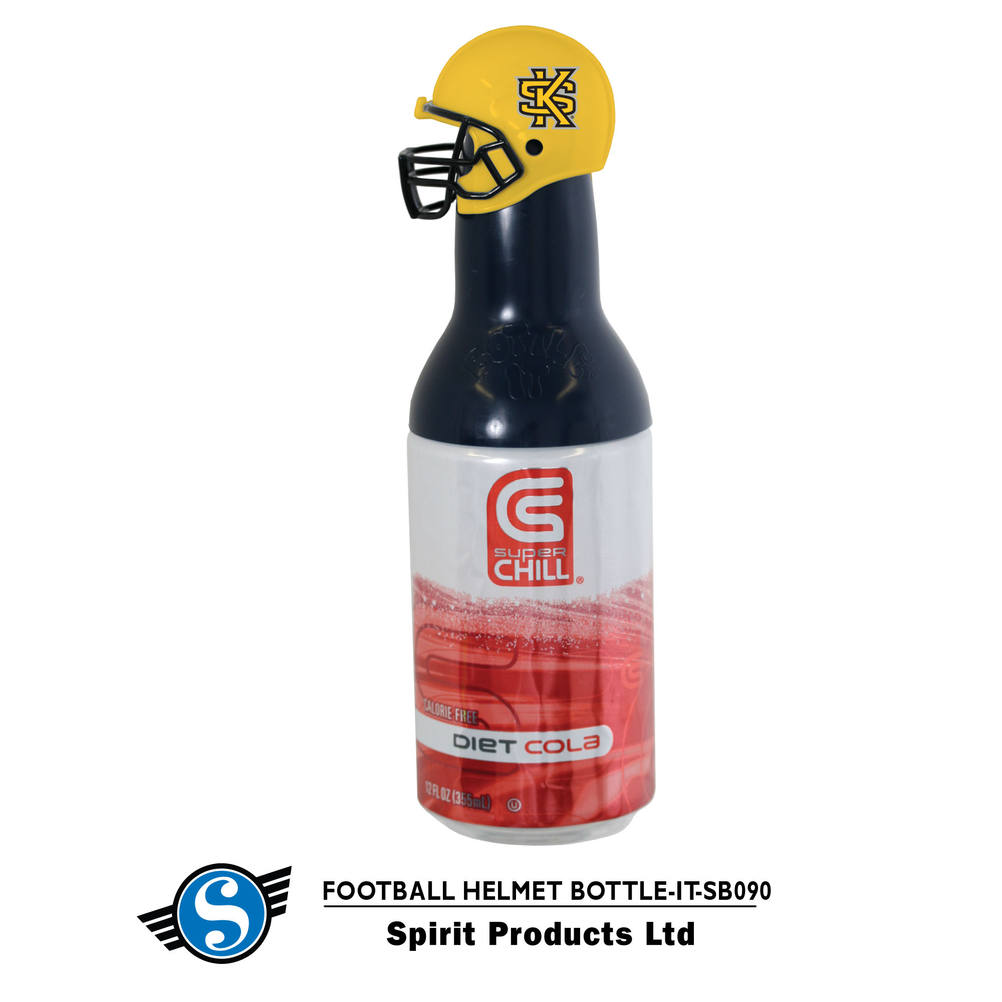 Image For Bottle-It Football Helmet
