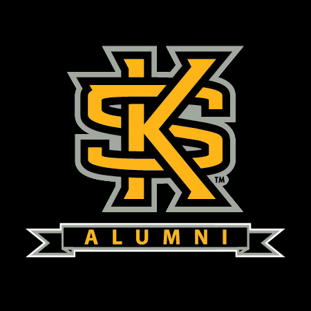 Image For Interlocking KS Alumni Decal