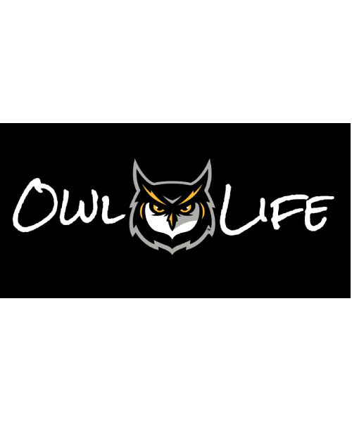 Image For Owl Life Decal