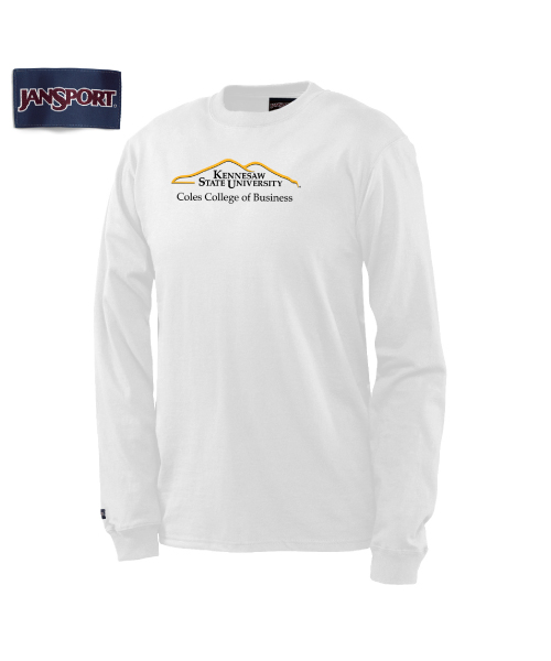Image For Long Sleeved Coles College of Business Shirt