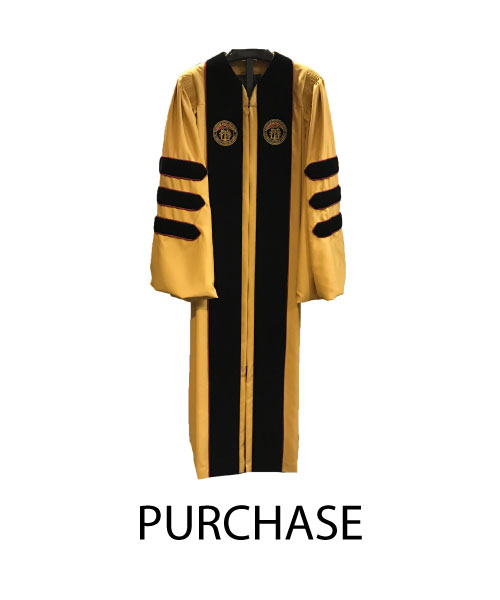 Image For Doctoral PURCHASE Gown