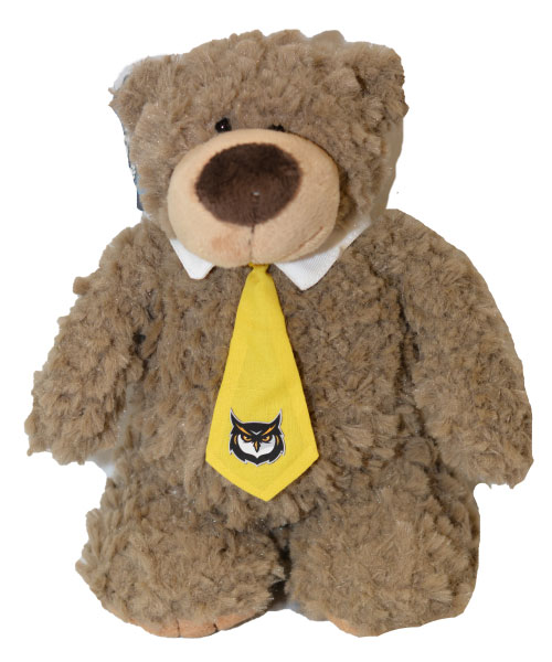 Image For BEAR ARCHIE W/NECK TIE 9""