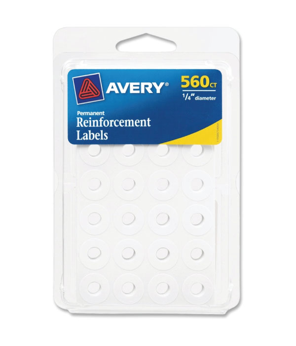 Image For Avery Reinforcement Labels (560 Count)