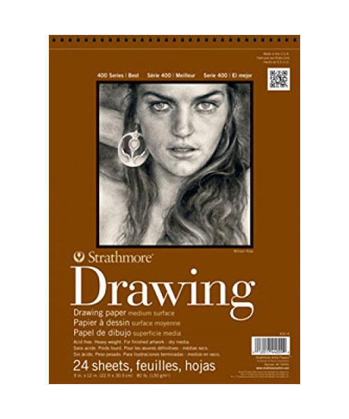 Image For DRAWING PAPER STRATHMORE
