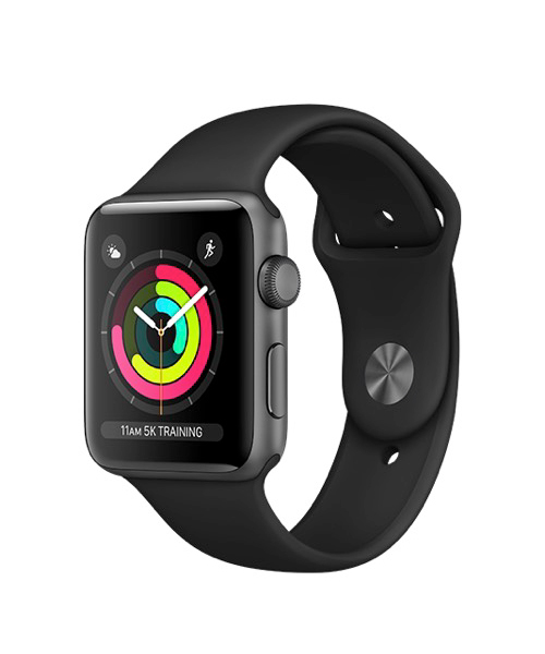 Image For APPLE WATCH S3 38MM SPACE GRAY
