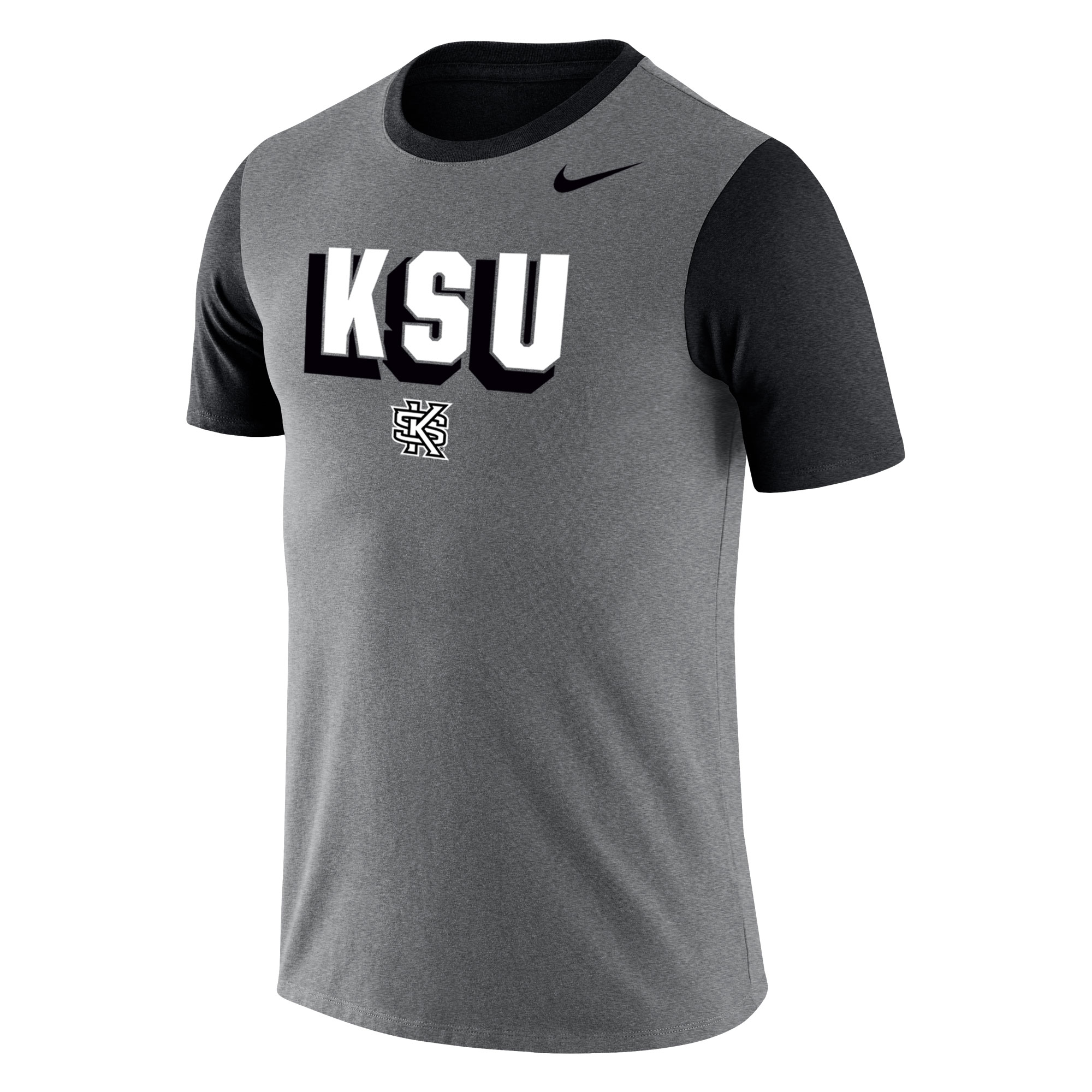 Cover Image For Nike Tri-Blend Grey Tee