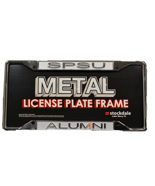 Image For SPSU Alumni License Frame