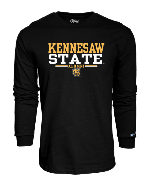 Cover Image For SHIRT: Kennesaw State Alumni Long Sleeve Tee