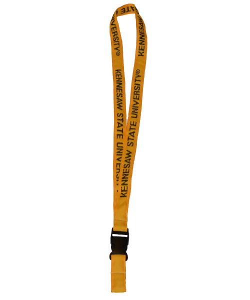 Image For Kennesaw State Platinum Gold Lanyard