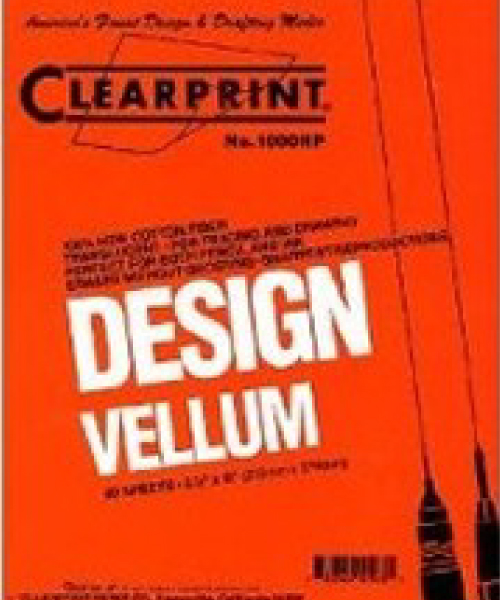 Image For CLEARPRINT VELLUM 50SHPAD