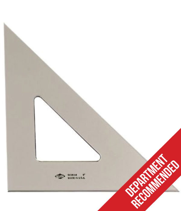 "Image For Alvin Smoke-Tint Triangle 8"" 45/90"