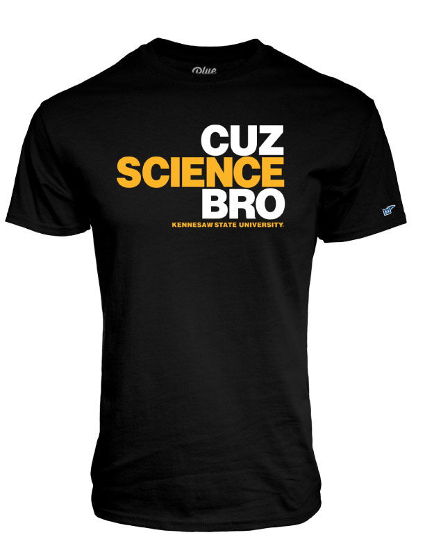 Image For Blue 84 Science Bro Tee