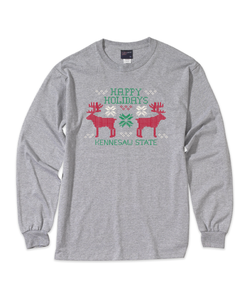 Image For Happy Holidays Long Sleeve T-Shirt