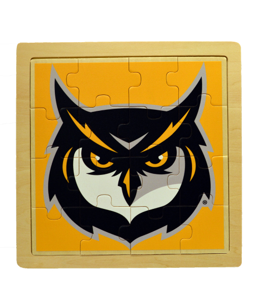 Image For 16 PC. WOODEN JIGSAW PUZZLE