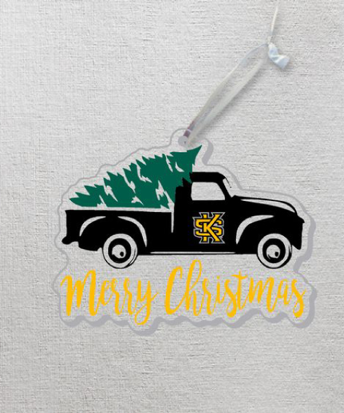 "Image For CDI Acrylic Truck ""Merry Christmas"" Ornament"