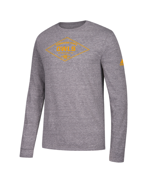Image For Adidas Tri-Blend Long Sleeve Tee
