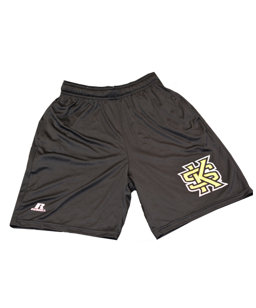 Image For Russell Youth Shorts with Interlocking KS