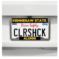 Image For AUTO: Kennesaw State University Alumni License Frame