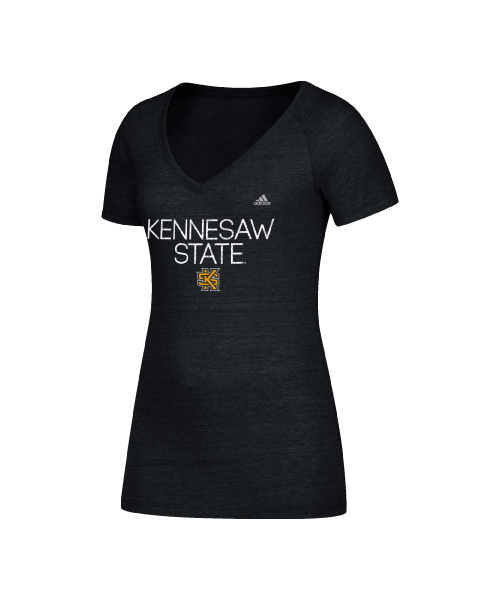 Image For Adidas Tri-Blend Kennesaw State Tee