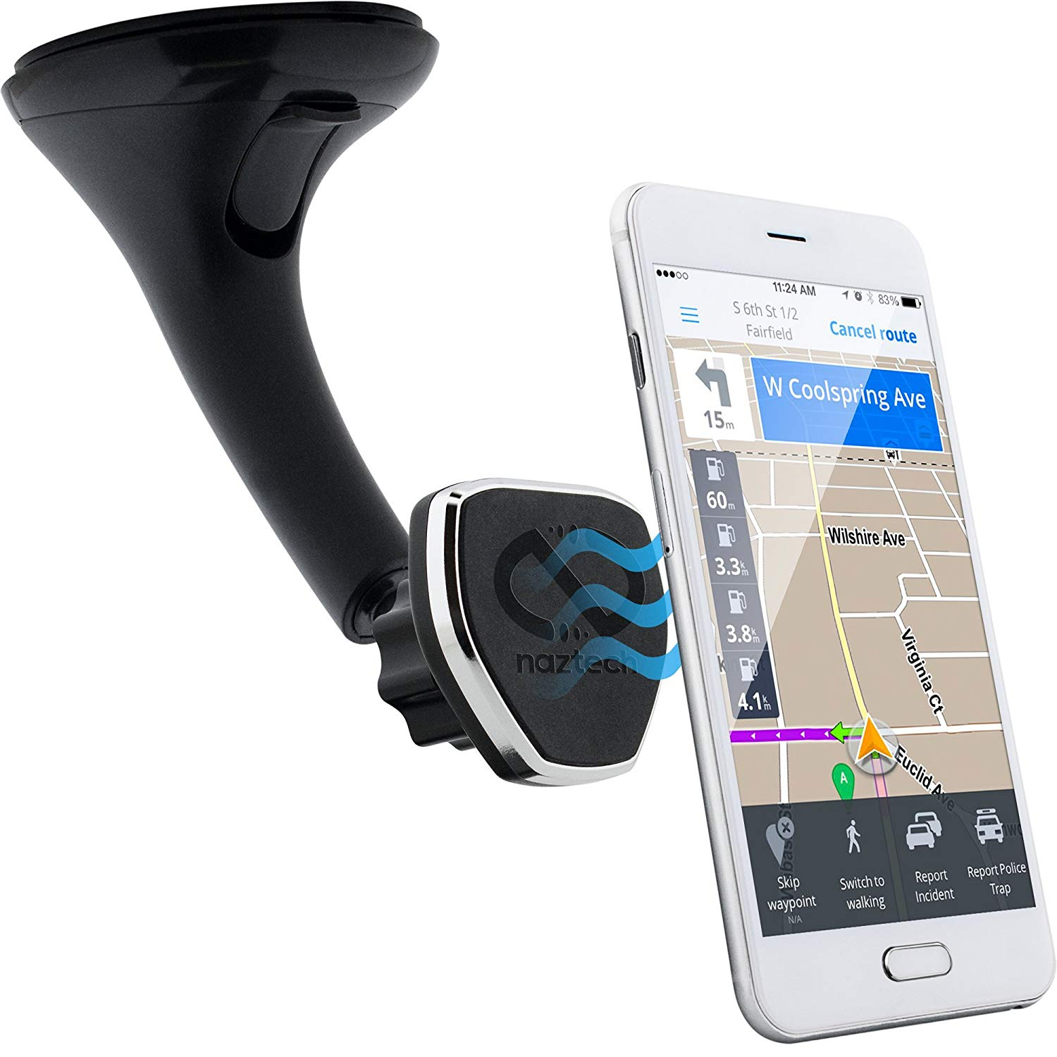 Image For PHONE WINDSHIELD MOUNT