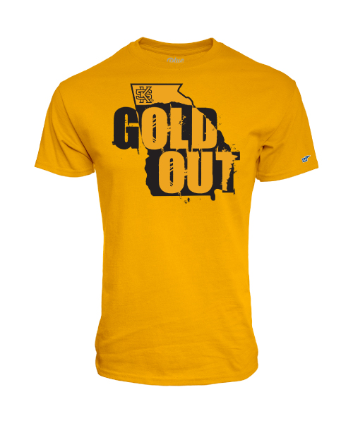 Image For 2019 Blue 84 Gold Out Tee