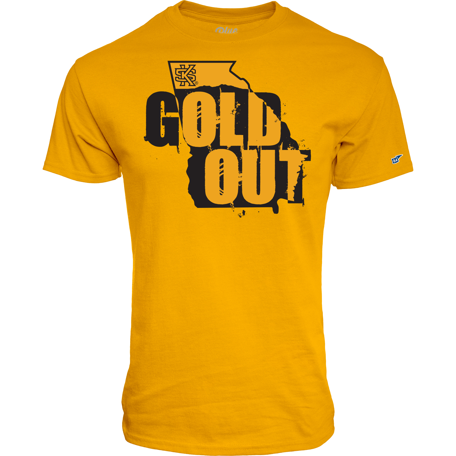 Image For 2019 Blue 84 Gold Out Tee (3XL)