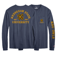 Image For League Kennesaw State Vintage Wash Long Sleeve Tee