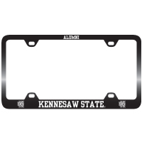 Image For Kennesaw State Alumni Black & Silver License Frame