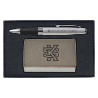 Image For Cardholder and Pen Set