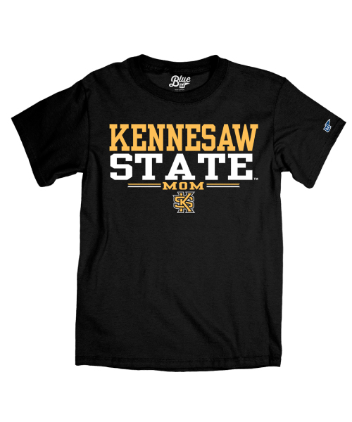 Cover Image For Blue 84 Kennesaw State Mom Tee(3XL)