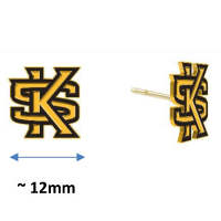 Image For Jardine Interlocking KS Post Earrings