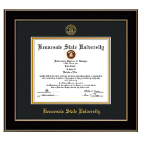Image For Professional Diploma Frame Black