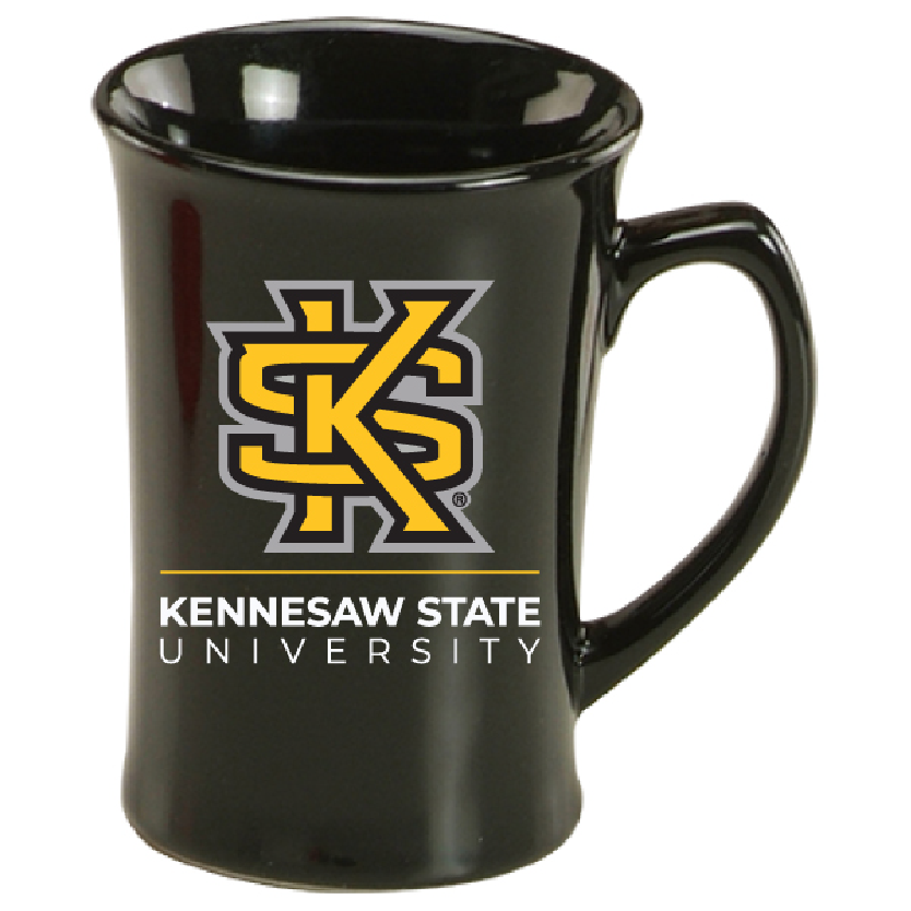 Image For Interlocking KS Gold & Black Mug