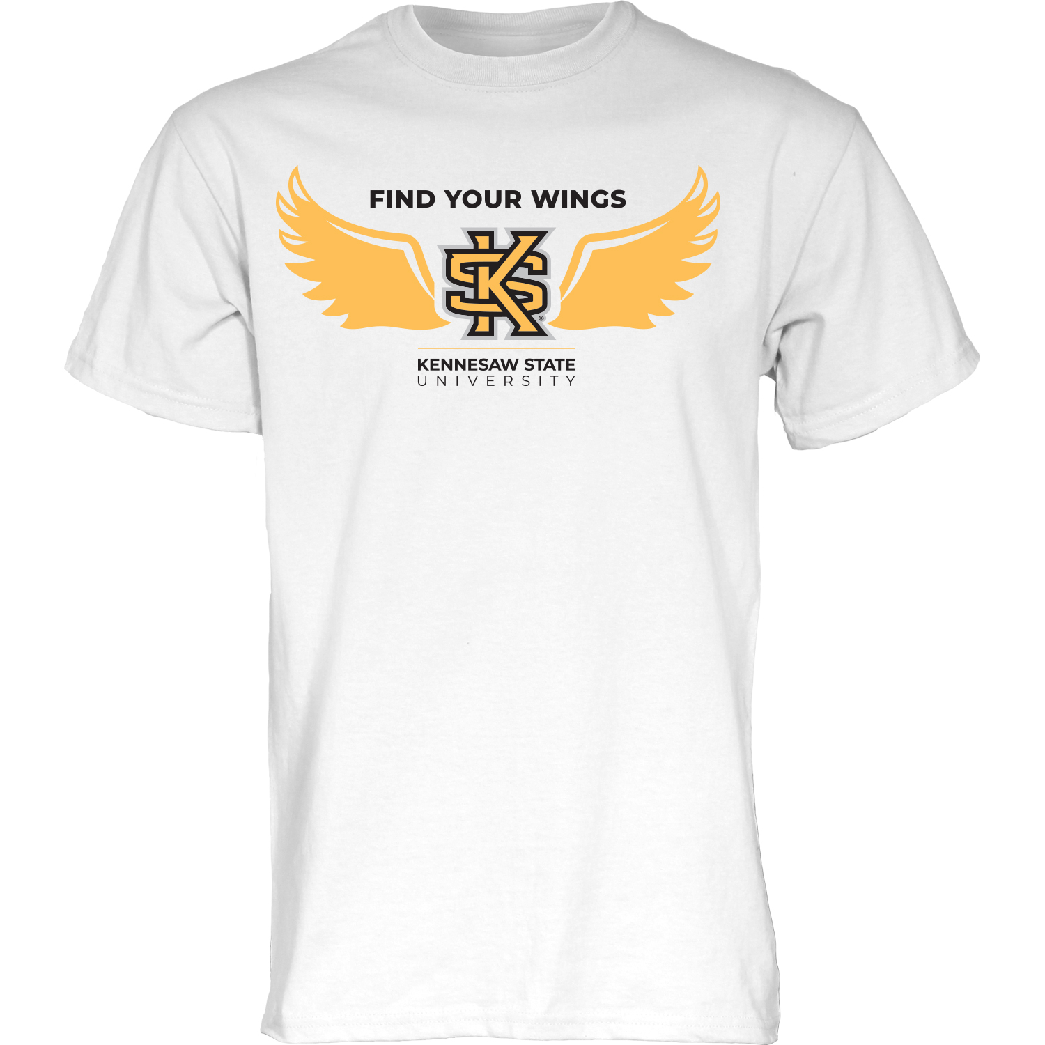 "Image For ""Find Your Wings"" Blue 84 Tee"