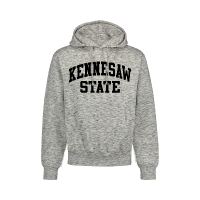 Image For MV Sport Heather Grey Pro-Weave Hoodie