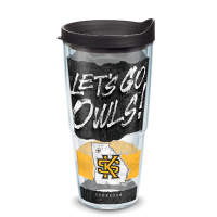 "Image For ""Let's Go Owls"" 24oz Tervis"