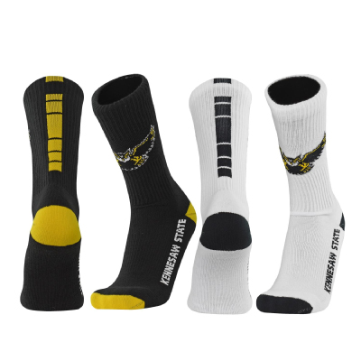 Image For 2 Pack of Flying Owl Logo Crew Socks