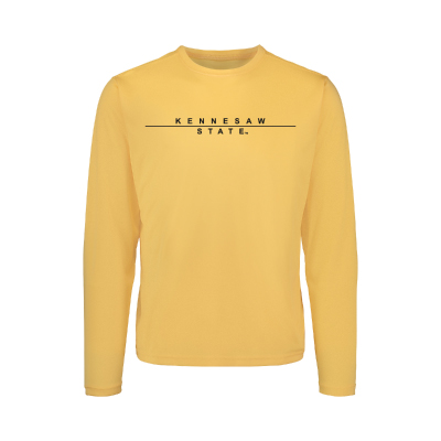 Image For MV Sport Sunproof Kennesaw State Long Sleeve Tee